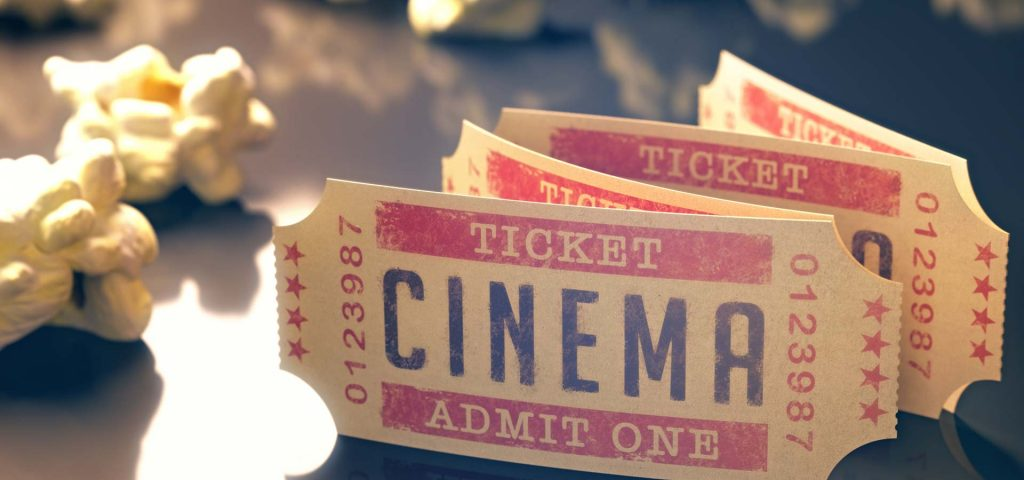 movie ticket stub